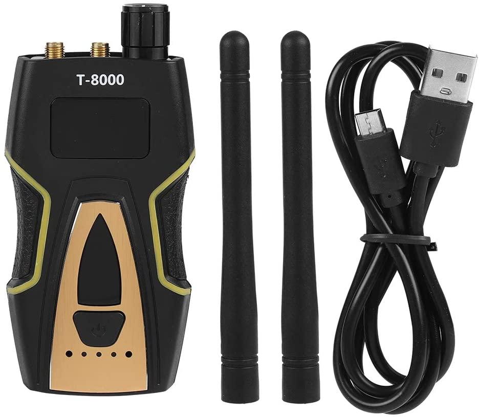 Pomya T-8000 RF Signal Detector GSM Audio Finder GPS Scan Detector Anti-spy Bug