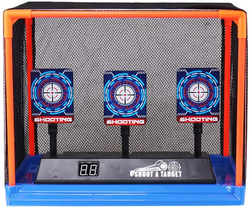 Electric Scoring Target Running Auto Reset Shooting Digital Target for Boys and Girls,2020 New Version Electric Shooting Digital Target Without Toy Gun