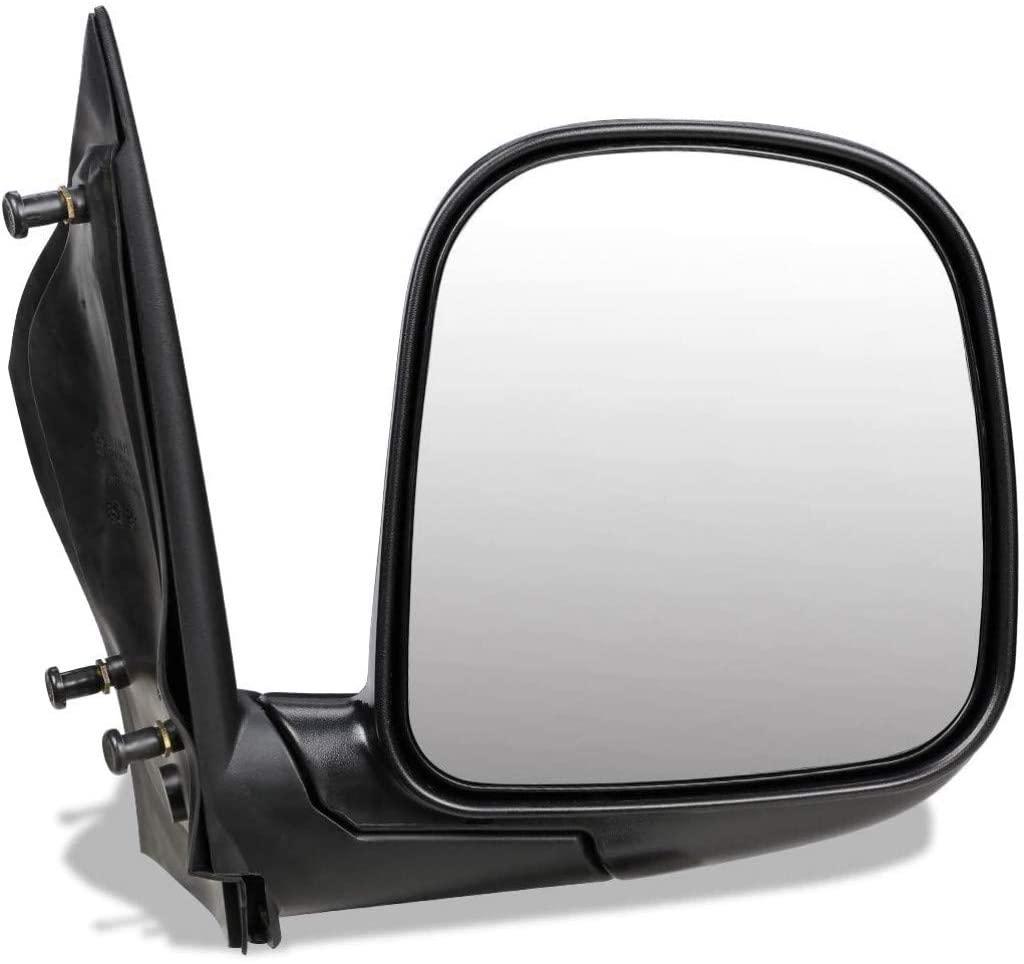 KarParts360: For 1996-2002 GMC Savana 3500 Door Mirror - Passenger Side - Non-Heated, Manual