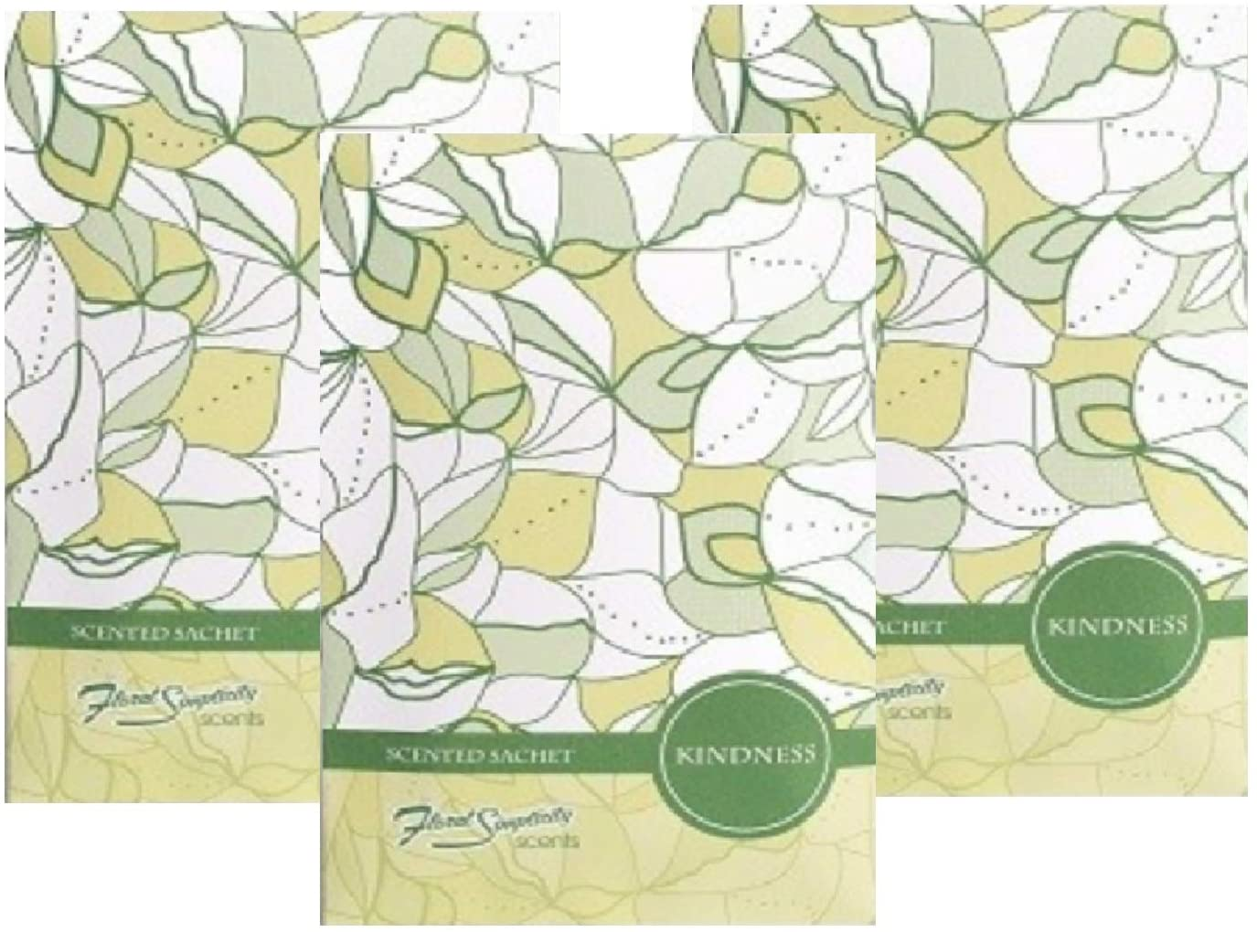 FloralSimplicity Kindness Scented Sachets Pack of 3
