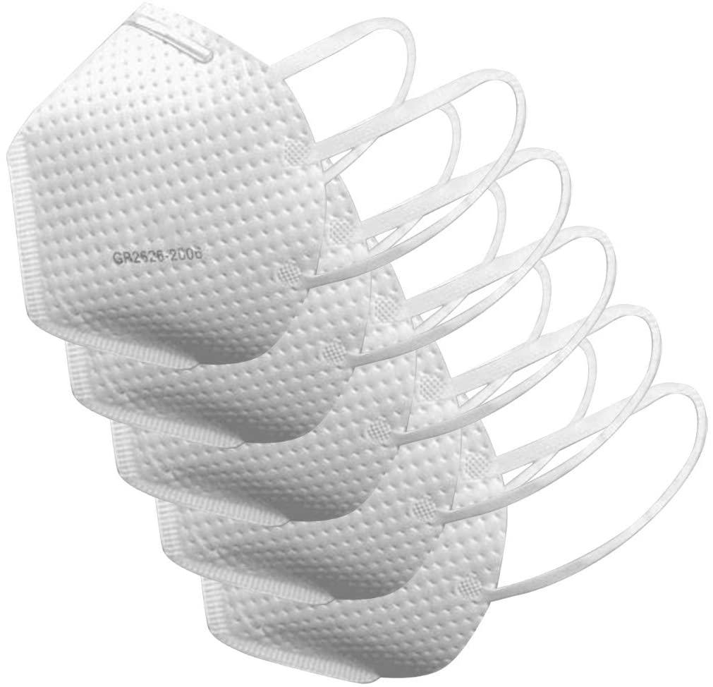 Disposable Soft Skinship Mack Anti Dust Fog Face Protection Macks Respirator 5pc
