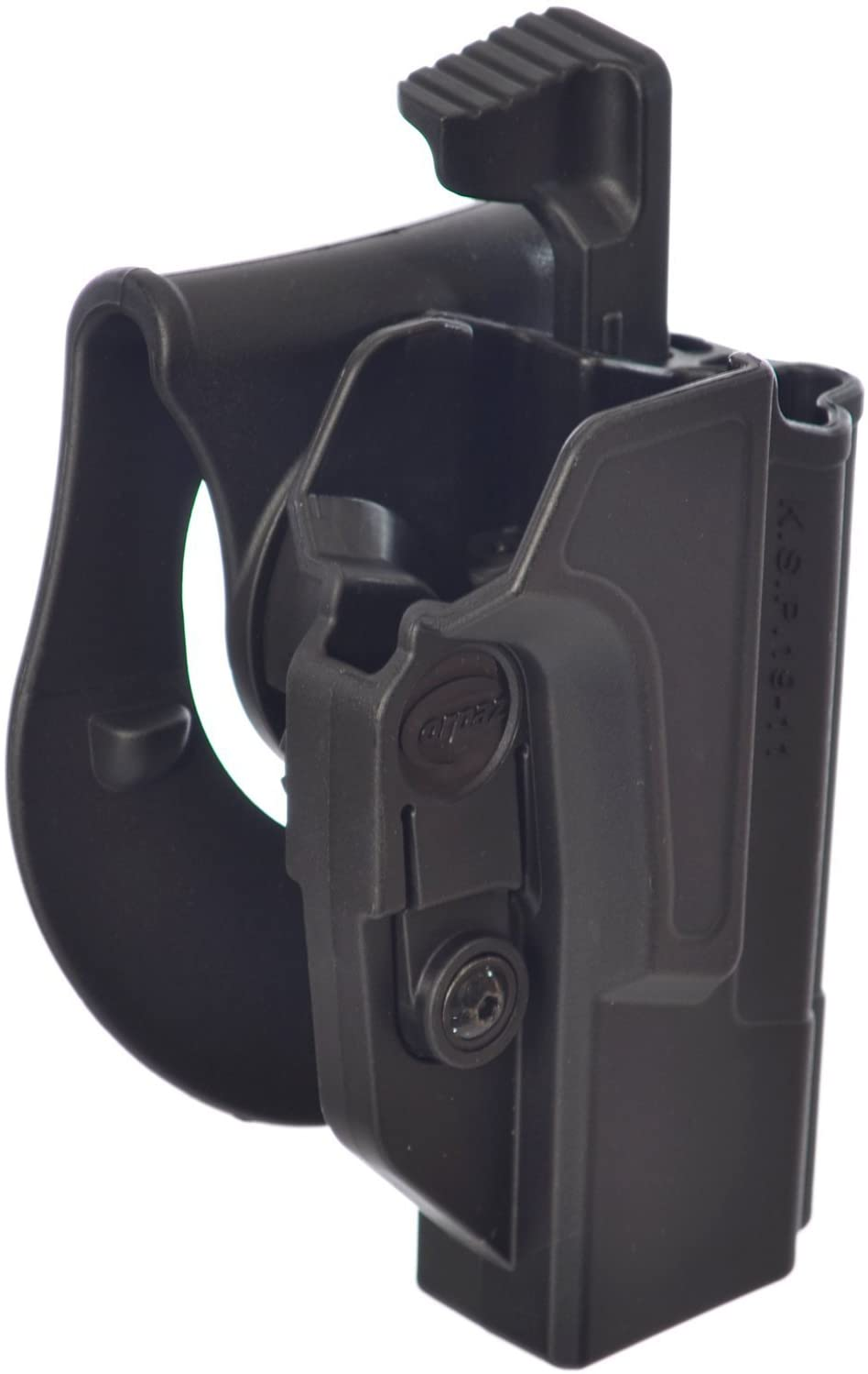 Orpaz Defense Level2 Retention Tactical Thumb Release Safety Holster Tention Adjustment Rotating 360 ROTO Paddle for All 1911 with/Without Picatinny Rail - Colt Sig Kimber S&W Taurus Ruger & More