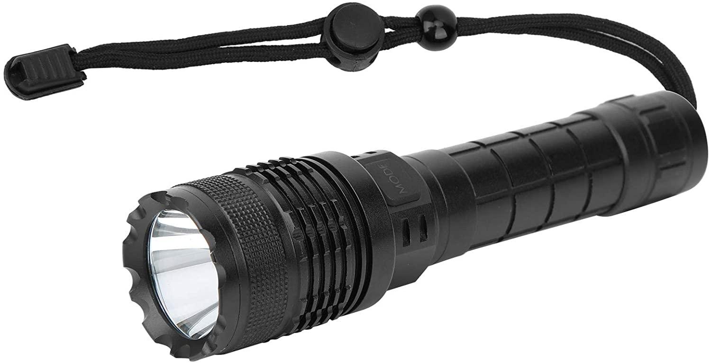 RiToEasysports Outdoor Flashlight,USB Rechargeable Flashlight High Brightness Light Torch for Camping Hiking Emergency Fishing