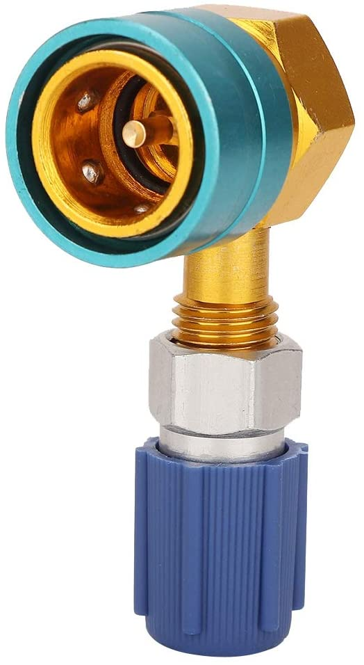 LetCart Car Air-Conditioning Fitting-R1234YF to R134A Low Side Quick Coupler Adapter