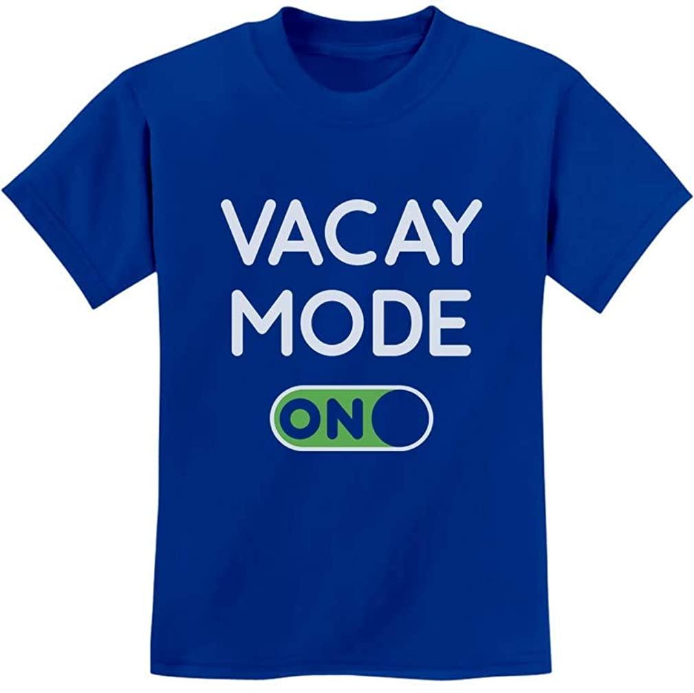 Vacay Mode ON Summer Fashion Vacation Youth Kids T-Shirt