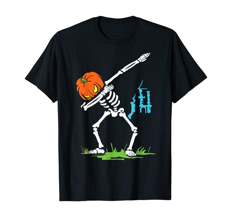 Halloween - Dabbing Skeleton T-Shirt