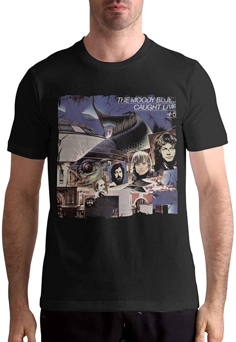 Maria D Miller Men The Moody Blues Caught Live + 5 Leisure Sunscreen T-Shirt