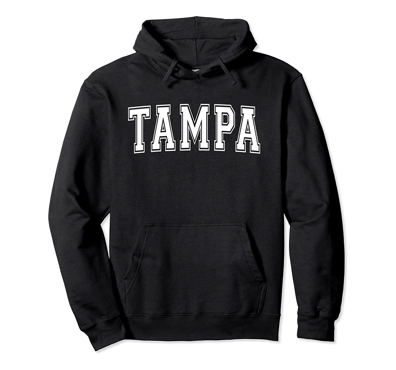 TAMPA FL FLORIDA USA Vintage Sports Varsity Style Pullover Hoodie