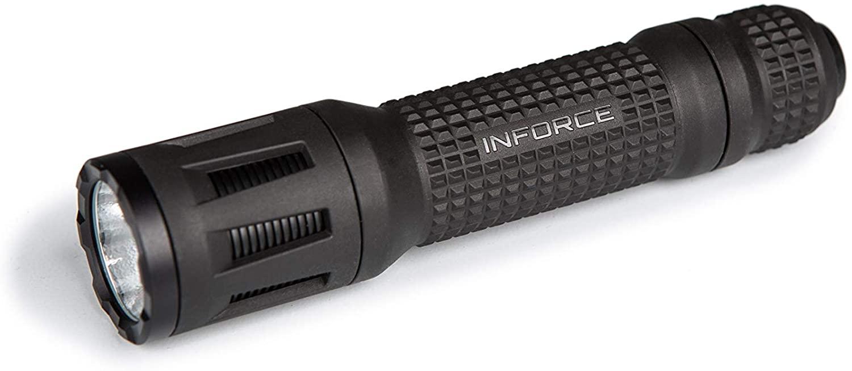 INFORCE TFx Handheld Flashlight 700 Lumens White Light Black Body TFX-05-1