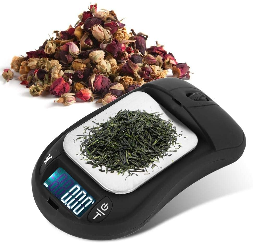 Mini Scale, Food Scale Kitchen Scale 200g / 0.01g Mouse Scale Digital Scale, Electronic for Jewelry Tea