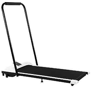 Dengqin Under-Desk Walking Treadmill Folding Treadmill Electric Motorized Running Machine Smart Treadmill Jogging Exercise Machine Remote Control Home