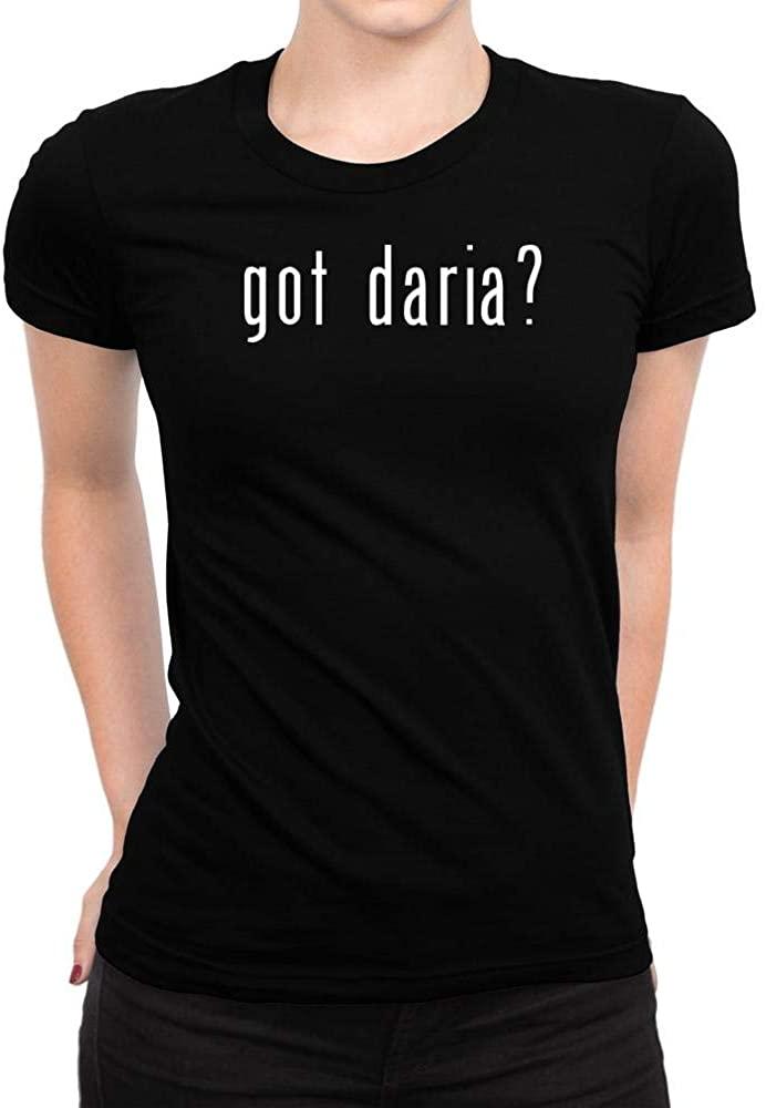 Idakoos Got Daria? Linear Women T-Shirt