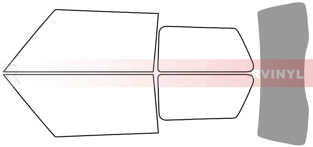 Rtint Window Tint Kit for Mini Cooper 2002-2006 - Rear Windshield Kit - 50%