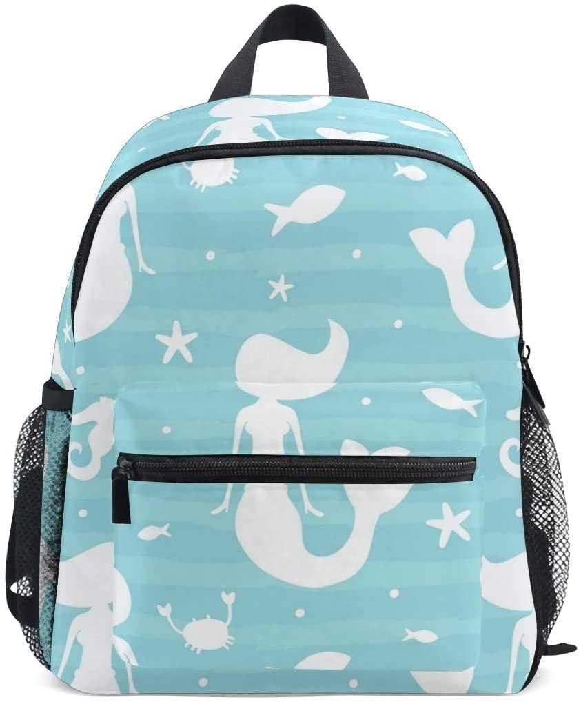 Cute Mermaid Kids Backpack Bookbag School Bag for Boy Girls 2020038