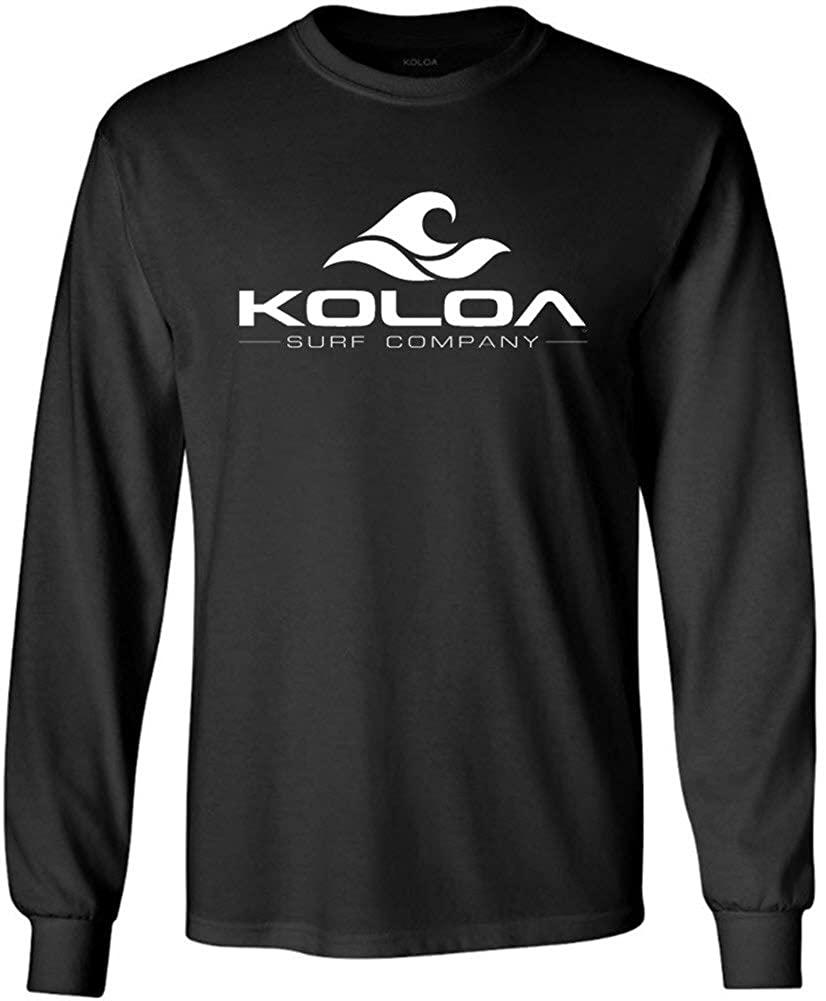 Koloa Surf. Wave Logo Tall Long Sleeve Heavy Cotton T-Shirts-4XLT