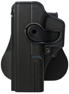 Polymer Retention Roto Holster LEFT HAND for Glock 17 / Glock 22 / Glock 31 Model Z1010LH Black