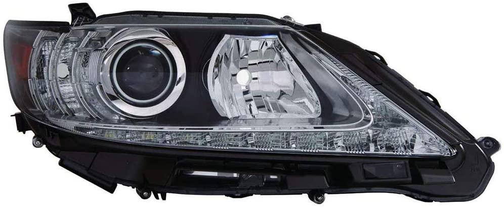 For Lexus ES350/ES300h 2013-2015 Headlight Assembly Unit Halogen Projector Passenger Side LX2519139