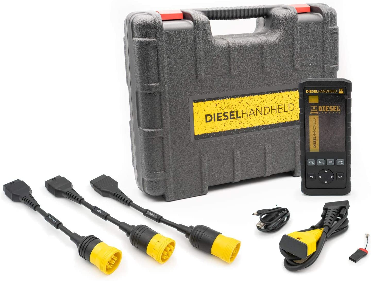 Diesel Laptops Handheld Heavy-Duty Scan Tool with Regen with 365 Day Truck Fault Codes Subscription
