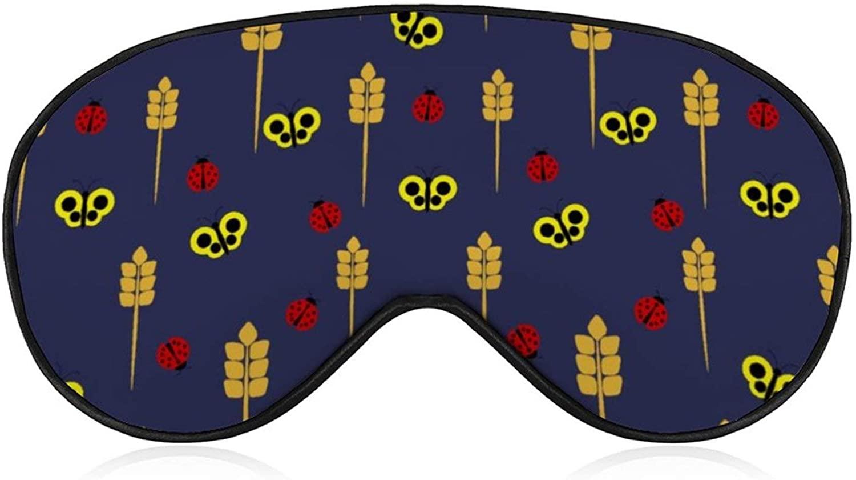 Unisex Sleep Eye Mask Luxury Night Eye Mask Lightweight Sleeping Mask
