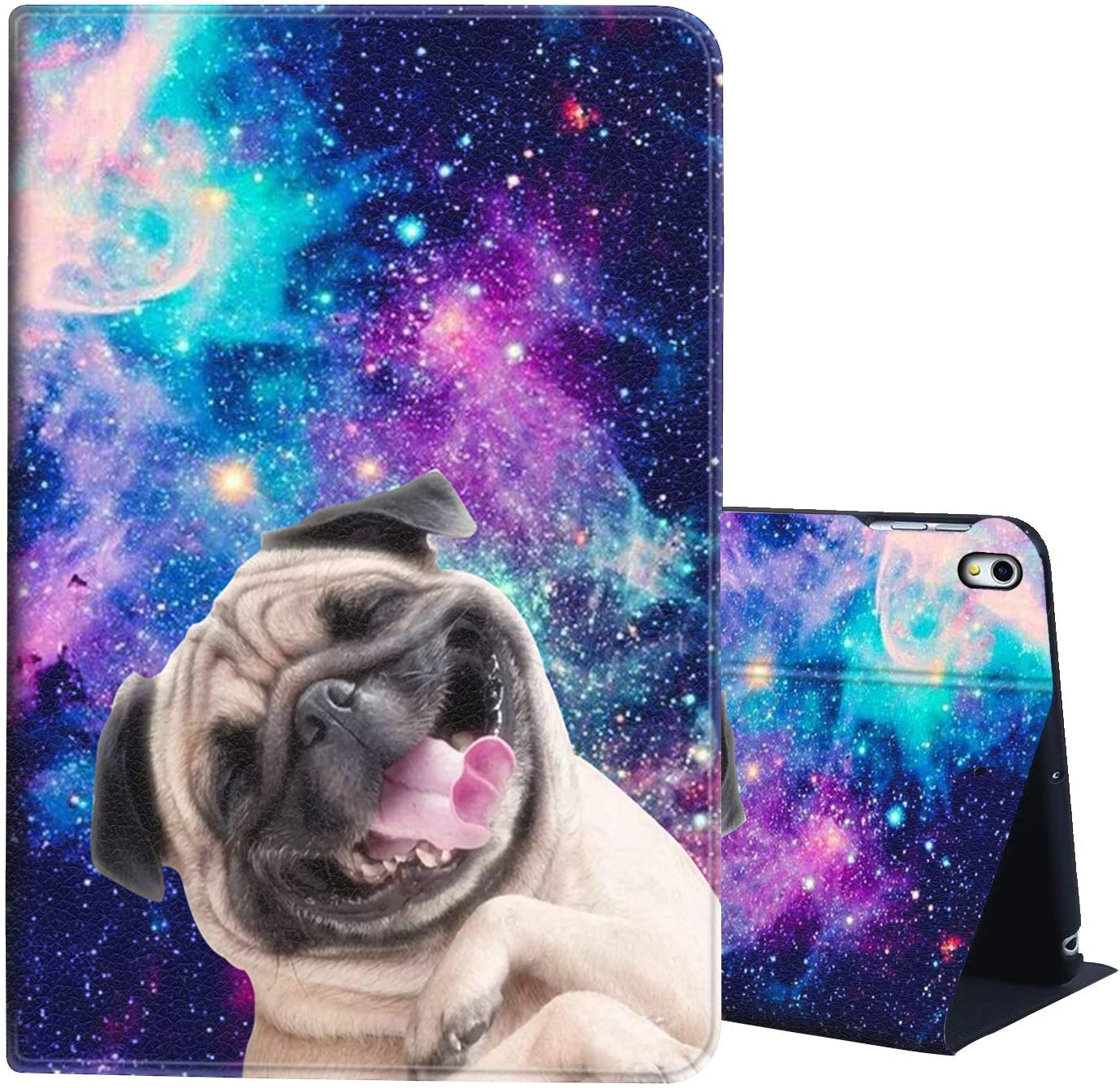 iPad Pro 12.9 Case 2018,AIRWEE Full Body Protective Rugged Shockproof Case with Adjustable Angle & Auto Sleep/Wake for Apple iPad 12.9 Inch 3rd Gen,Shining Star Smart Dog