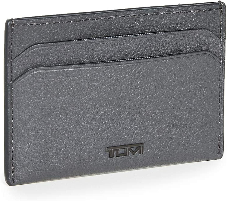 TUMI - Nassau Slim Card Case Wallet with RFID ID Lock for Men