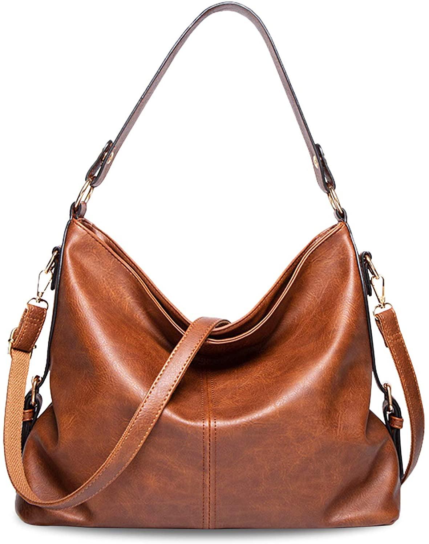 Women's Handbags Fashion PU Leather Top Handle Satchel Shoulder Tote