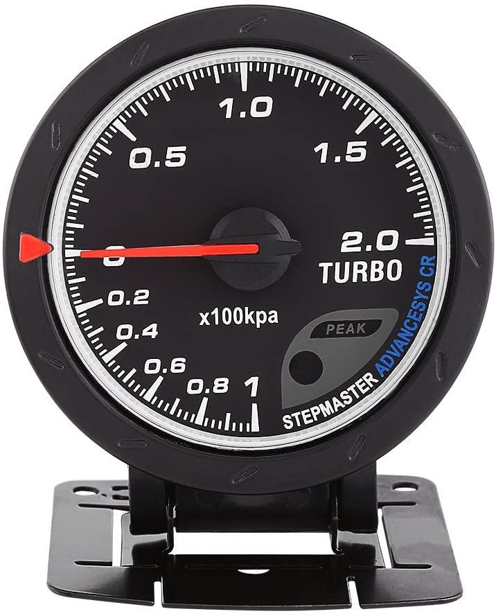 2.75 Universal Turbo Boost Gauge Kit 0~30PSI White&Red LED Backlighting