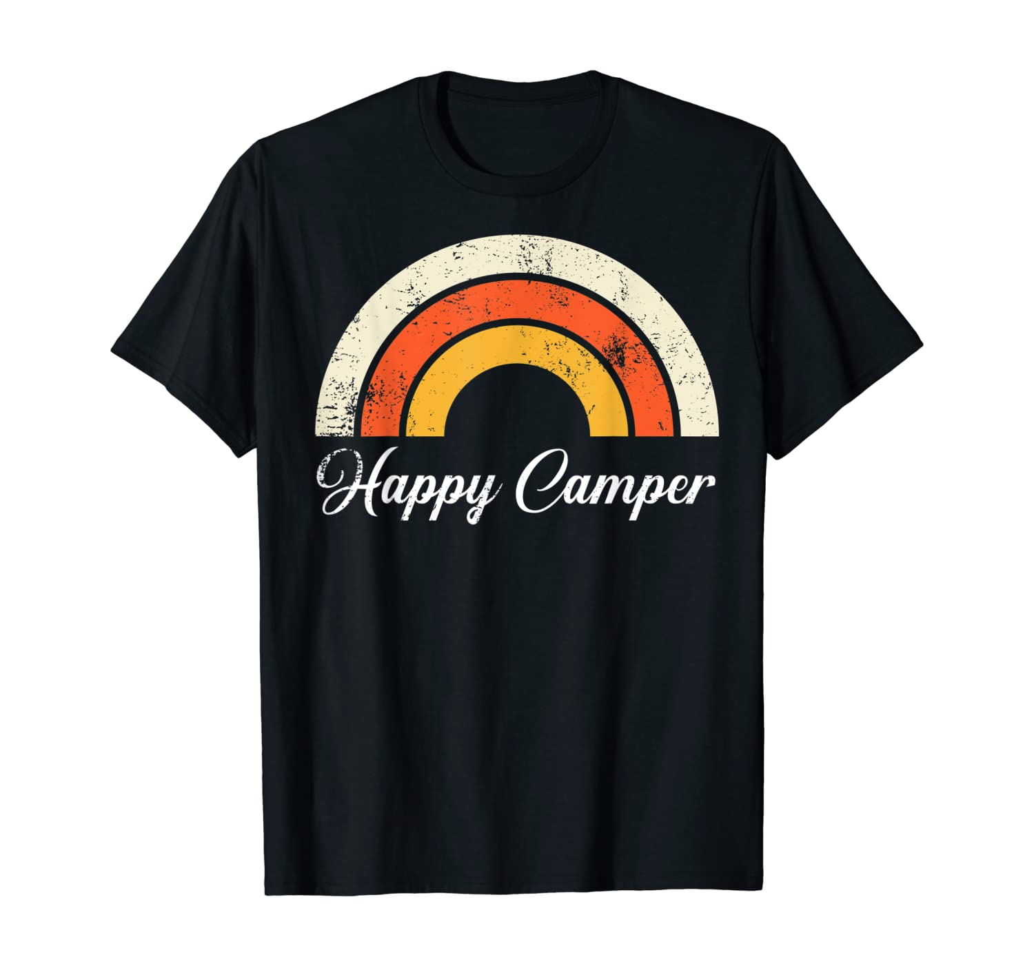 Happy Camper Shirt. Shirts For Women Shirts For Men Graphic T-Shirt