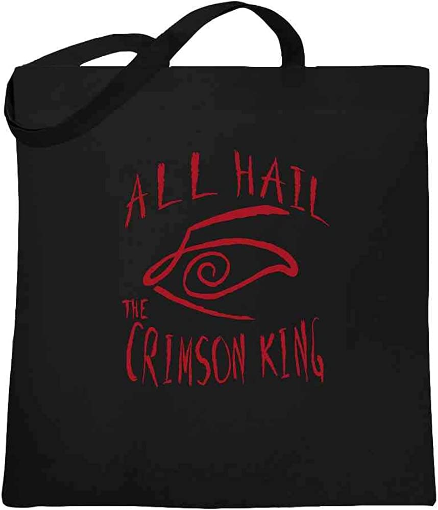 Stephen King Rules Horror Movie Book Merchandise Large Canvas Tote Bag Women