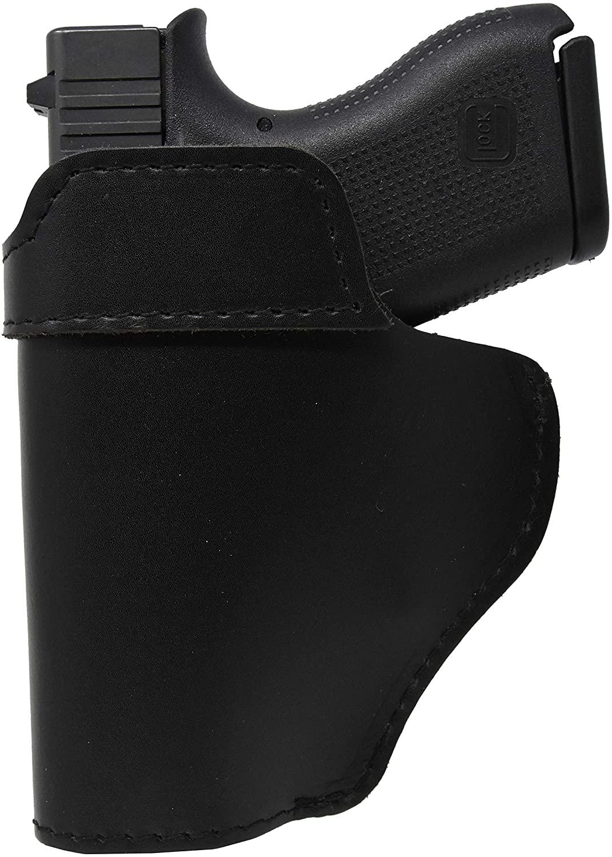 Garrison Grip Black Leather IWB Holster for Glock 17 up