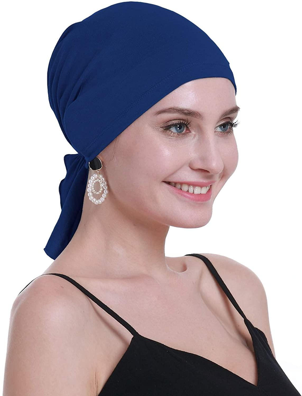 osvyo Bamboo Chemo Headscarf for Women Hair Loss - Cancer Slip On Headwear Turbans Sealed Packaging