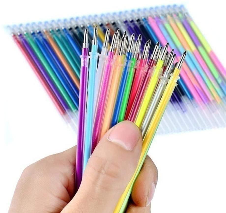 milkcha Home & Garden,Office School 48Colors Refills Markers Watercolor Gel Pen Replace Supplies 10ml,Office & Stationery