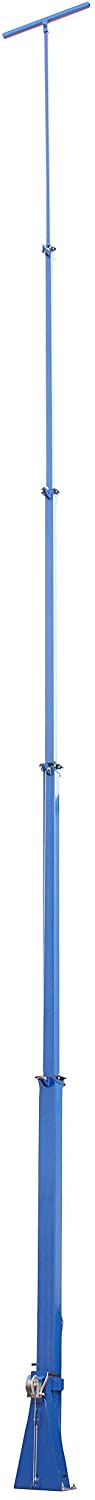 50 Foot Telescoping Light Mast - 13-50' Fold Over Five Stage Light Tower - 360° Rotating Boom
