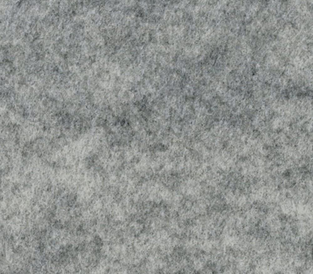 Acrylic Felt Fabric Heather Grey / 72 Wide/Sold by The Yard