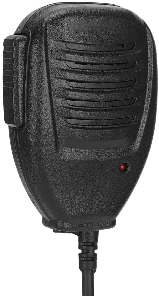 Goshyda Radio Hand Microphone Waterproof Walkie Talkie Handheld Microphone Radio Hand Mic Accessory Sturdy and Durable