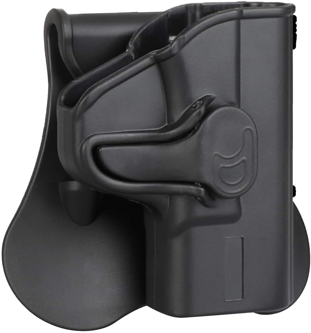S&W M&P Shield 9mm OWB Holster Fits Smith & Wesson MP Shield 9MM/.40(3.1'' Barrel), Paddle Holster for Shield M2.0 9MM/.40(3.1'' Barrel), Belt Carry Tactical Gun Holster - Right Handed