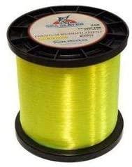 Ohero Sea Slayer Mono Line 40lb - 100lb (100lb, Yellow) 5 lb Spool