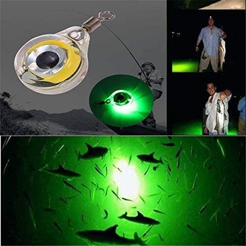 LAOZZI Luminous Fishing Lights Night Fluorescent Glow in The Dark LED Underwater Light Lure Fish Bait Rod Tip Glow Sticks