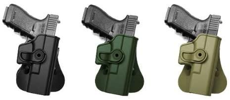 Hand Gun Polymer Retention Roto Holster for Glock 19/23/32 Black IMI RSR Defence Gun / Hand Gun Holster