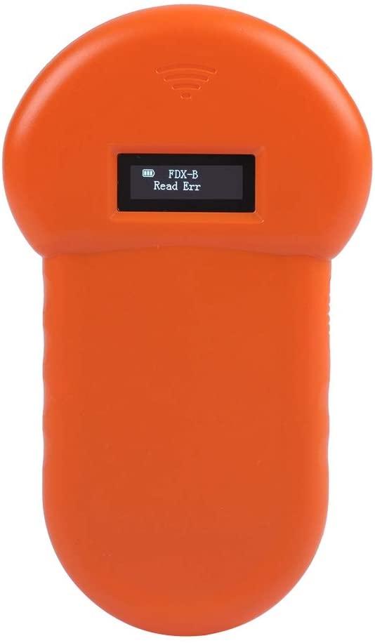 Animal Reader, Microchip Pet Scanner Pet Scanner, Animal ID Reader, Pet ID Scanner for Dogs for Cats