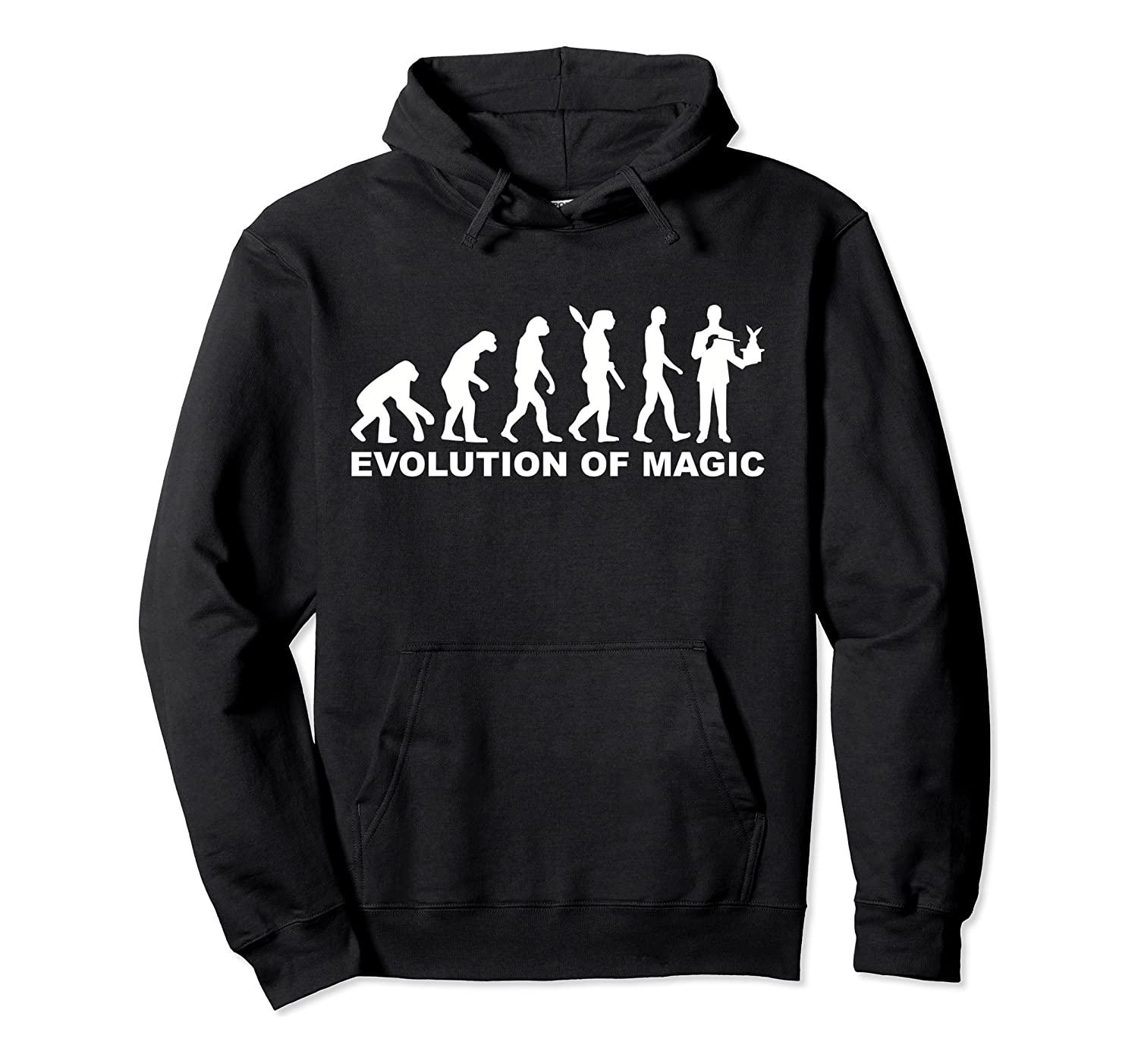 Evolution of magic magician Pullover Hoodie