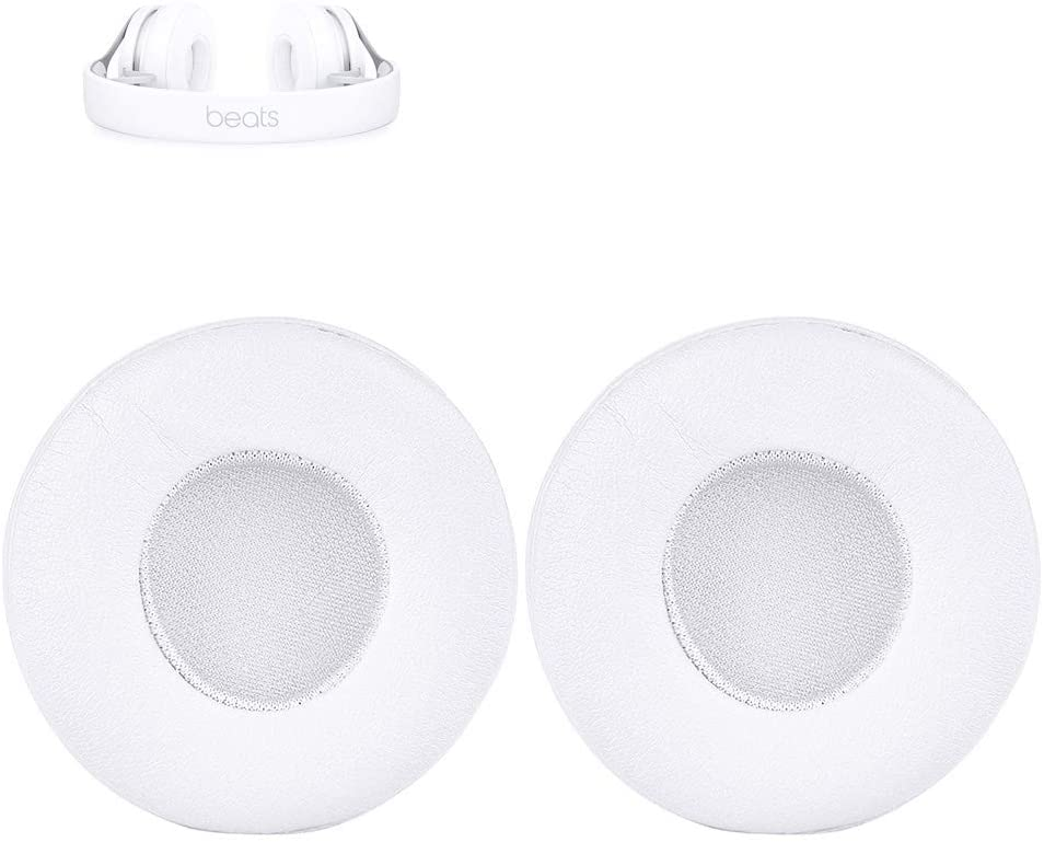 EP Earpads Replacement Ear Pads Cushions Muffs Repair Parts Compatible with Beats EP On-Ear Headphones.(White)