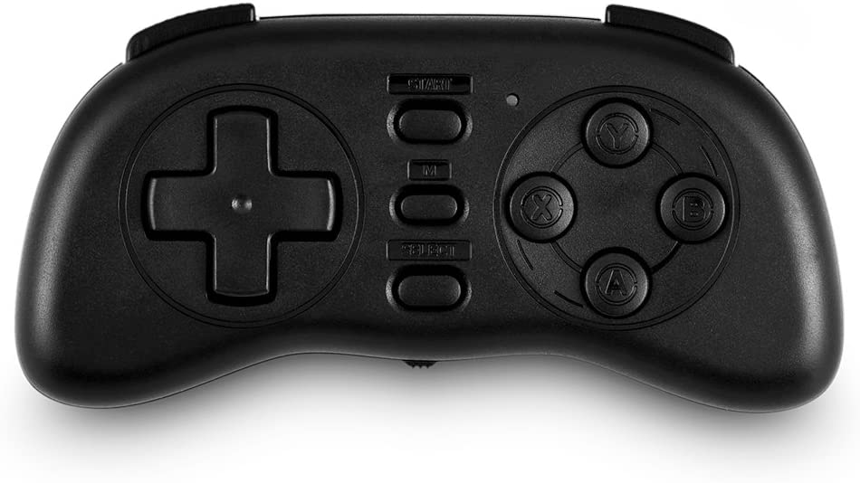 Zer one PL-88 Mini Bluetooth Gamepad, Wireless Mobile Game Controller Portable Bluetooth Gaming Controller for iOS Android Windows(Black)