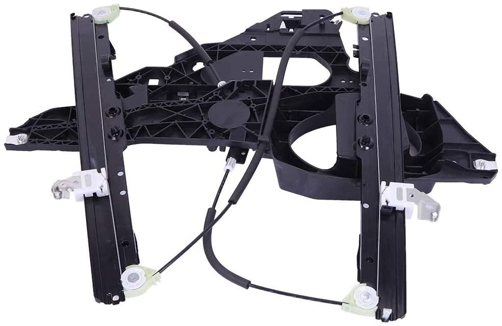 KABOCHO Front Right Passenger Side Power Window Regulator with Panel without Motor Fit for Ford Expedition Lincoln Navigator 2003 2004 2005 2006