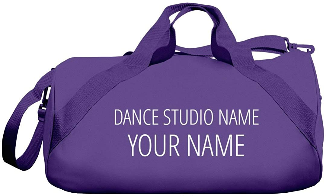 Custom Dance Gym Bag for Dancers: Barrel Duffel Bag