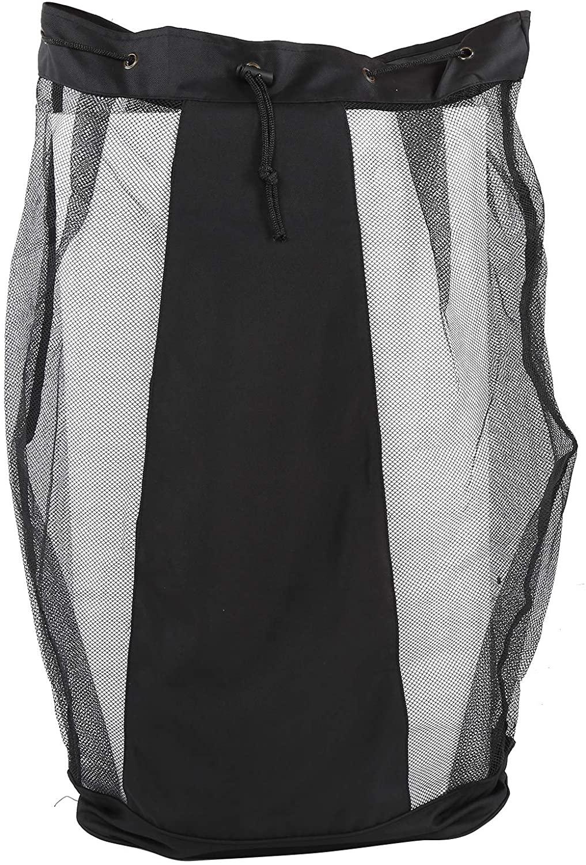 Alomejor Sports Net Bag Storage Backpack Large Capacity Bag Football Basketball Volleyball Bag