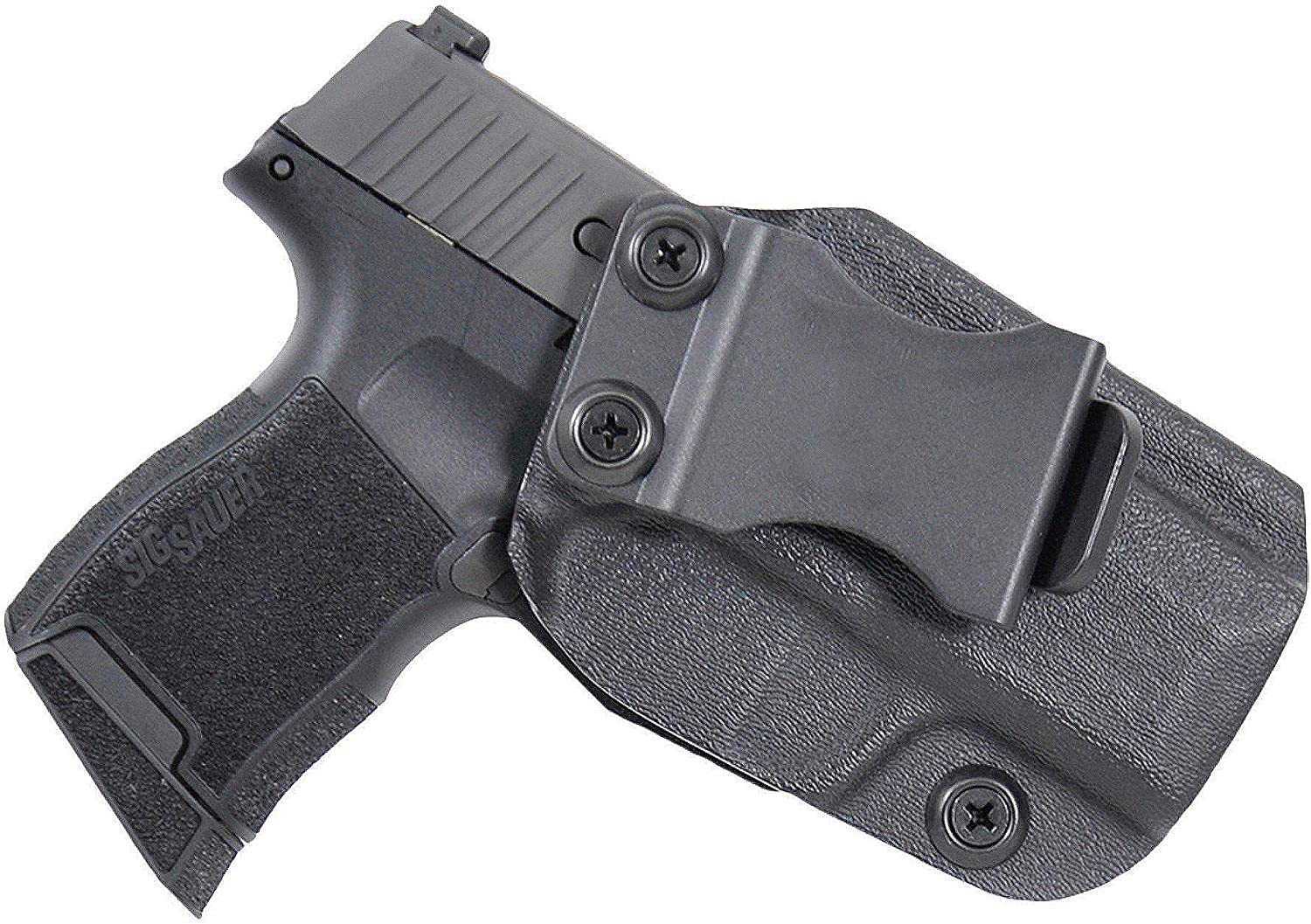 Black Scorpion Outdoor Gear IWB KYDEX Holster: Fits SIG SAUER P365 | Made in USA | Custom Fit | Inside Waistband | Adjustable Cant/Retention System (Right Hand)