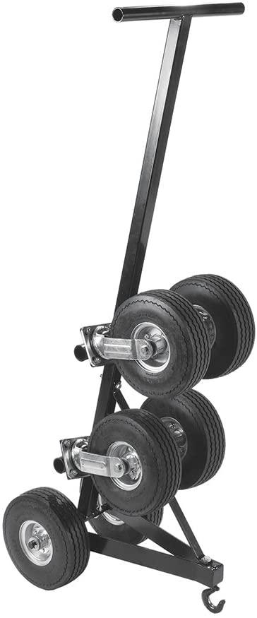 Kwik Goal Custom Elite Shelter Wheel Kit, Black