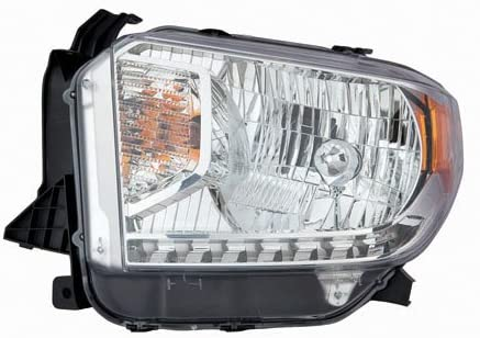 For Toyota Tundra 2014 2015 Headlight Assembly SR/SR5/Limited Halogen w/o Level Adjuster Driver Side CAPA Certified TO2502218C