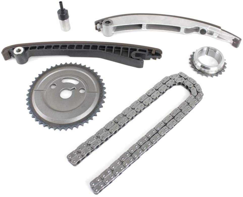 Timing Chain Kit Compatible with 2006-2009 for Mercedes-Benz C230 / 2005-2007 for Mercedes-Benz C350 / 2007-2010 for Mercedes-Benz CLS350 / 2006-2009 Mercedes-Benz CLK350 and more